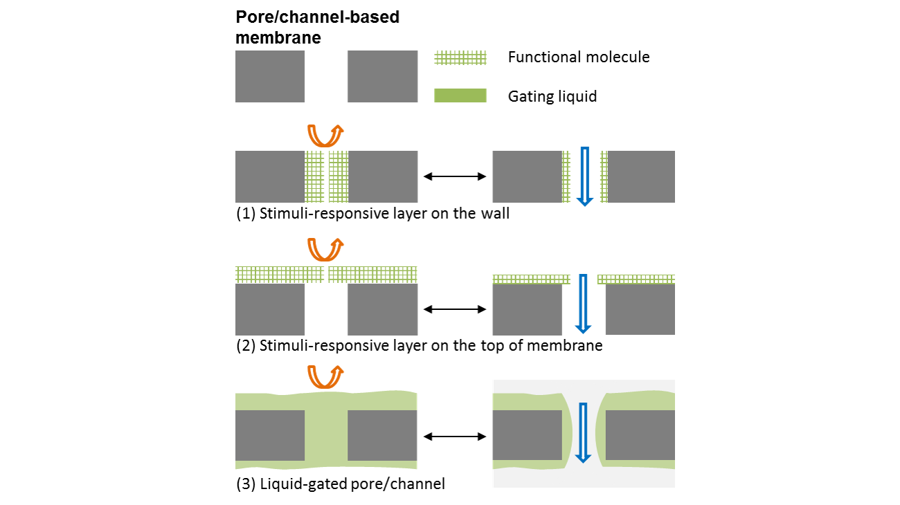 channel based membrane